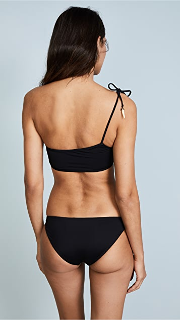 ViX Swimwear One Shoulder Bikini Top