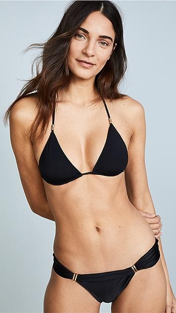 ViX Swimwear Black Shaye Bikini Top