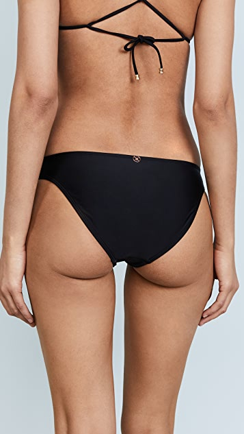ViX Swimwear Black Basic Bottoms