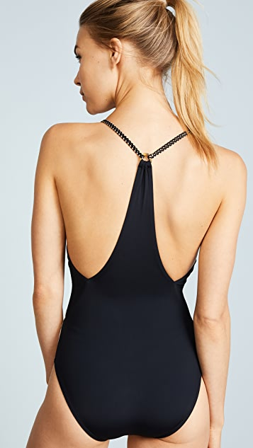 ViX Swimwear Betsey Black One Piece
