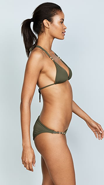 ViX Swimwear Military Paula Top