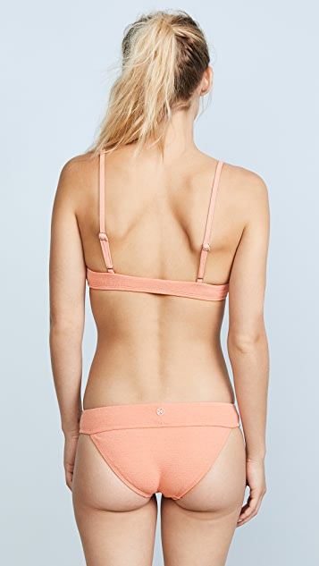 ViX Swimwear Boucle Knot Bikini Top
