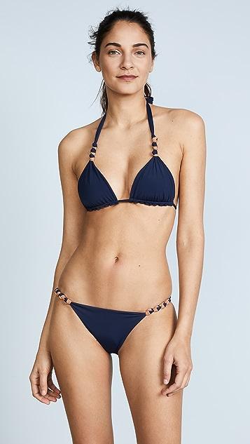 ViX Swimwear Midnight Knot Bikini Bottoms