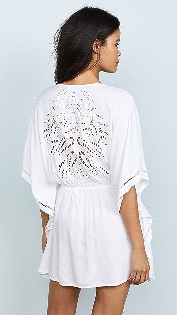 ViX Swimwear White Kimono