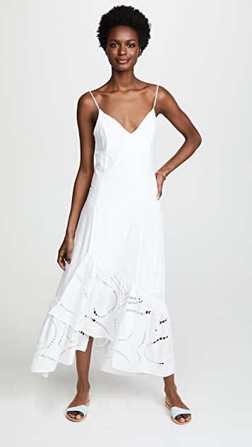 ViX Swimwear White Elma Dress