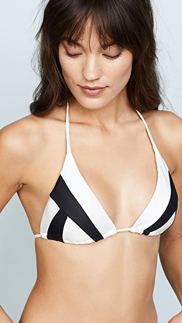 ViX Swimwear Wave Triangle Bikini Top