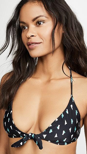 ViX Swimwear Dolce Retro Bikini Top