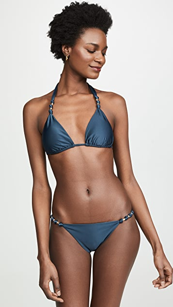 ViX Swimwear Onix Paula Bikini Top - Onix