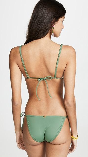 ViX Swimwear Лиф бикини Bamboo Shaye с треугольными чашечками