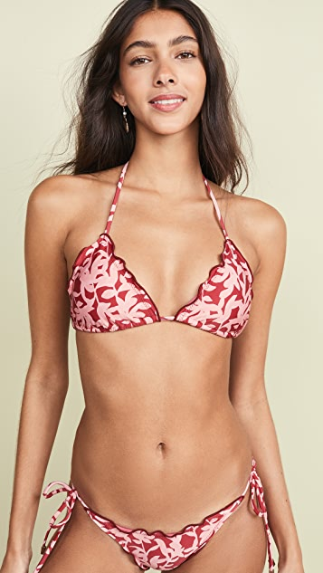 official the best attitude new high quality Ripple Bikini Top