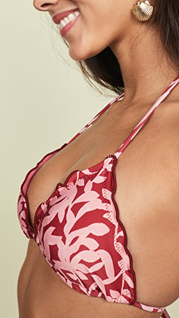 ViX Swimwear Ripple Bikini Top