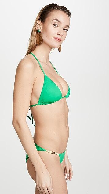 ViX Swimwear Bondi Triangle Bikini Top