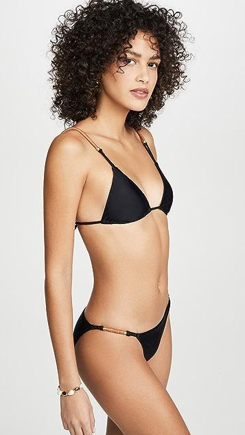 ViX Swimwear Elis Triangle Parallel Bikini Top