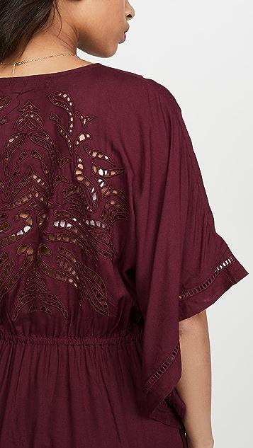 ViX Swimwear Embroidery Kimono