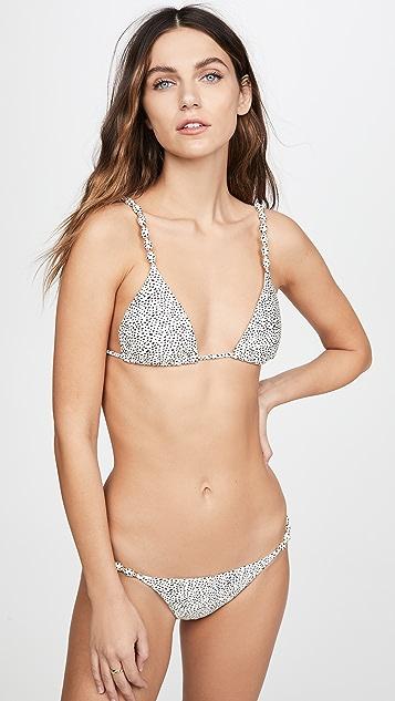 ViX Swimwear Margot 饰珠比基尼式泳裤