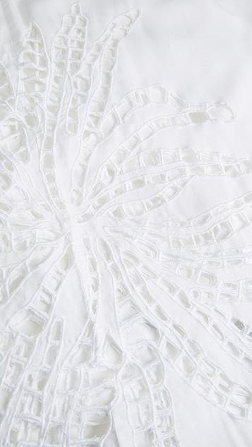 ViX Swimwear Embroidery Pamela Caftan