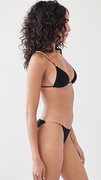 ViX Swimwear Solid Nic Paralell 比基尼上衣