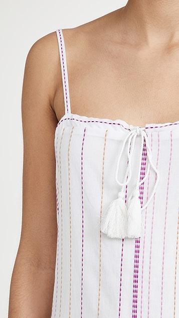 ViX Swimwear Solid Fran 长连衣裙