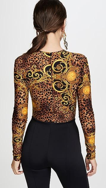 Джинсы Versace Couture Боди с логотипом