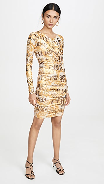 Versace Jeans Couture Versace 长袖连衣裙