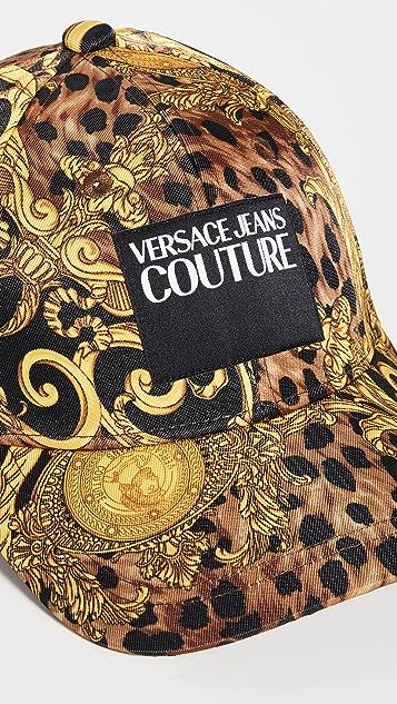 Versace Jeans Couture Logo Patch Cap