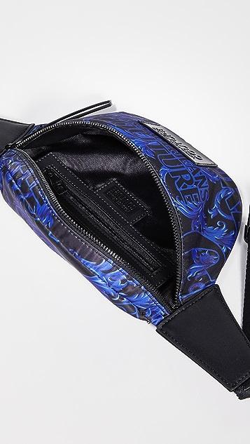 Versace Jeans Couture Baroque Print Belt Bag