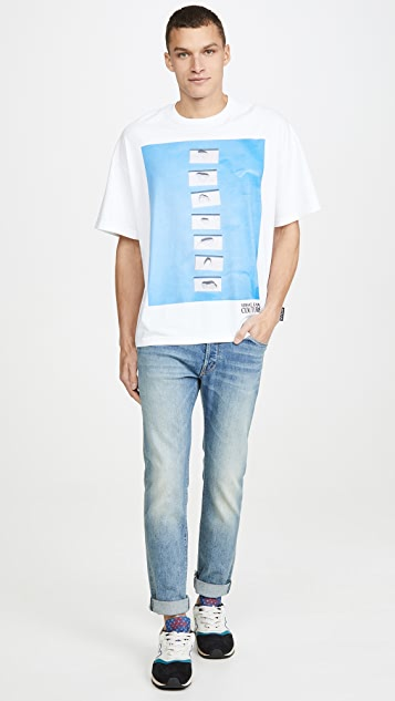 Versace Jeans Couture Couture Pool Print T-Shirt