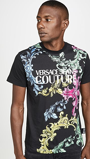 Versace Jeans Couture Couture Print T-Shirt