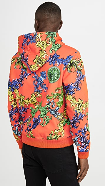 Versace Jeans Couture Graphic Pullover Hoodie
