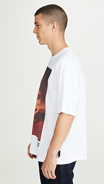 Versace Jeans Couture Pop Couture Capsule Hand Shadow Tee