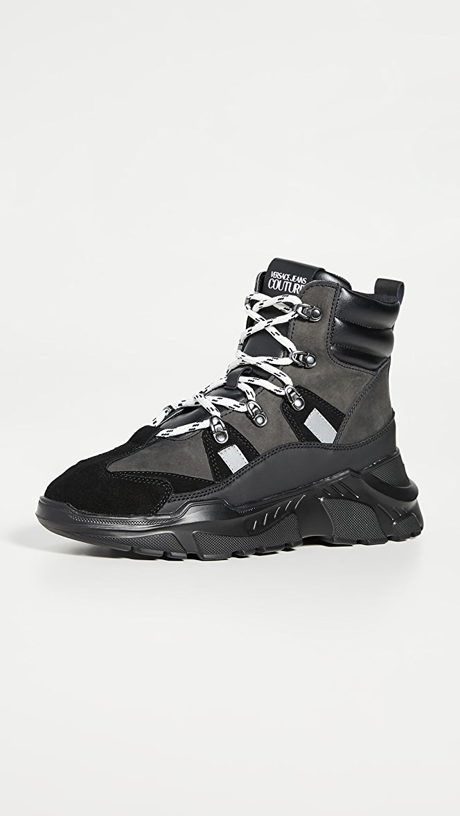 versace sneaker boots