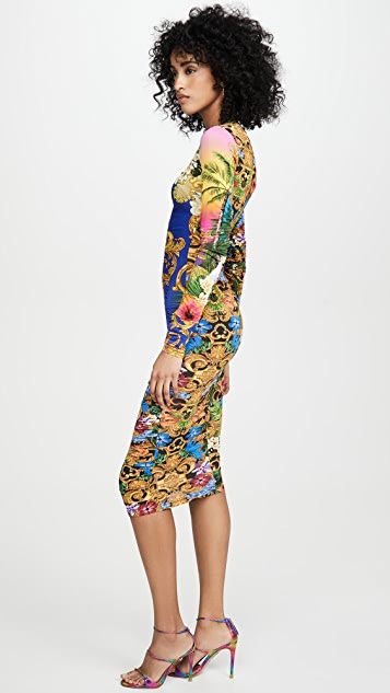Versace Jeans Couture Ruched Dress