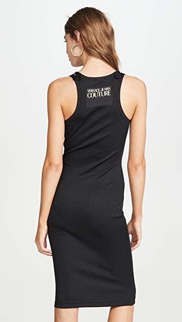 Versace Jeans Couture 搭扣连衣裙