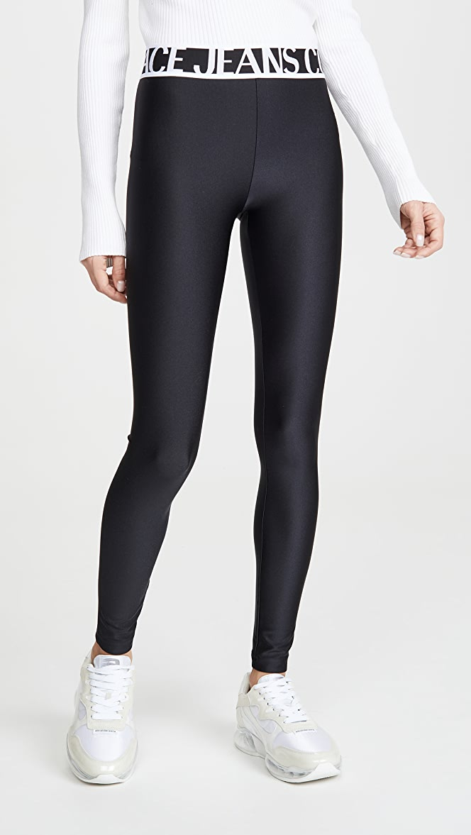 Versace Jeans Couture Elastic Logo Leggings Shopbop The Fall Event Save Up To 25