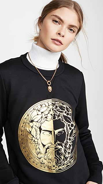 Versace Jeans Couture 面孔运动衫