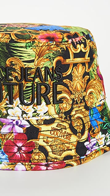 Versace Jeans Couture Printed Bucket Hat