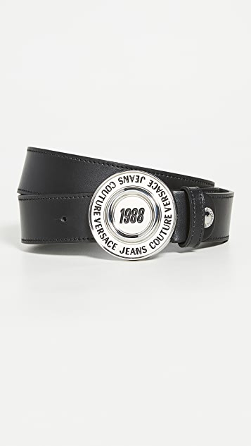 Versace Jeans Couture Leather Belt