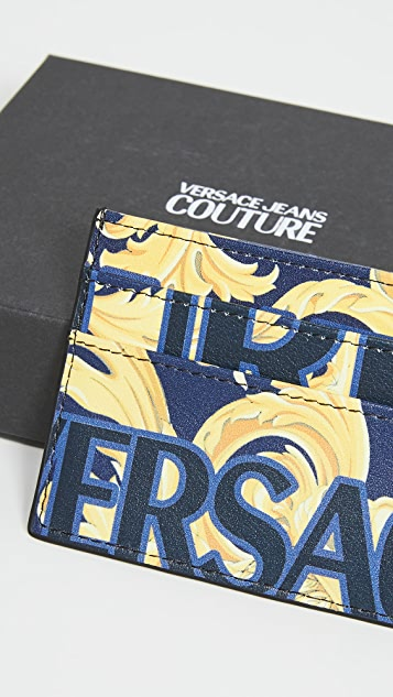 Versace Jeans Couture Printed Card Case