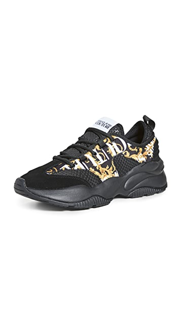 Versace Jeans Couture Printed Sneakers