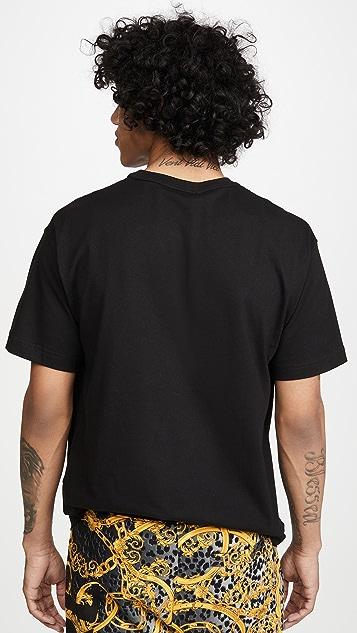 Versace Jeans Couture Versace Logo Tee Shirt