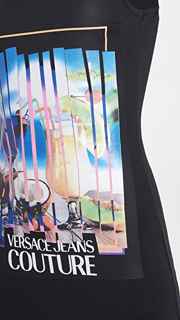 Versace Jeans Couture Lady Graphic Dress
