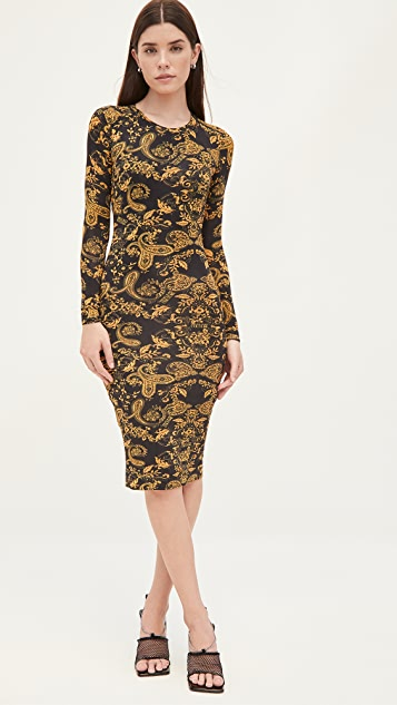 Versace Jeans Couture Fit and Flare Dress
