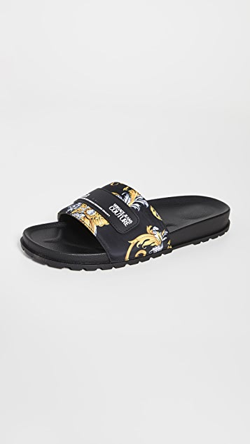Versace Jeans Couture Pool Slides