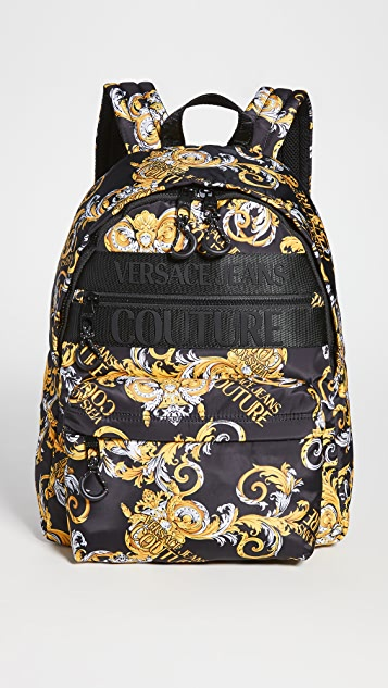 Versace Jeans Couture Macrologo Backpack