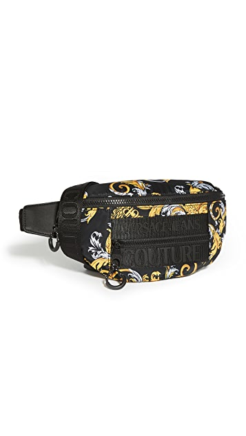 Versace Jeans Couture Macrologo Belt Bag
