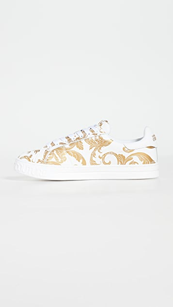 Versace Jeans Couture Baroque Low Top Sneakers