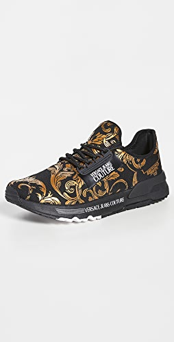 Versace Jeans Couture - Baroque Knit Sneakers