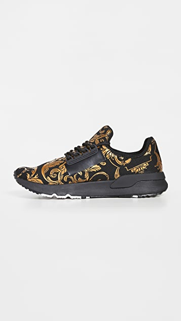 Versace Jeans Couture Baroque Knit Sneakers