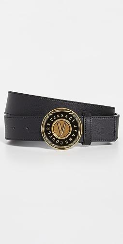 Versace Jeans Couture - V-Emblem Buckle Belt