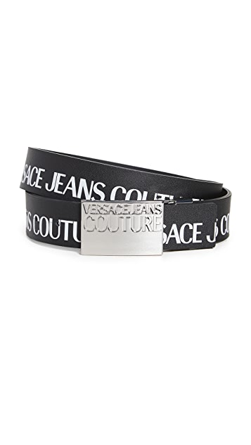 Versace Jeans Couture Institutional Logo Belt